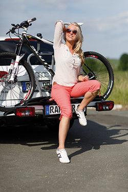 Cykell - ein Bild von einem Fahrradträger