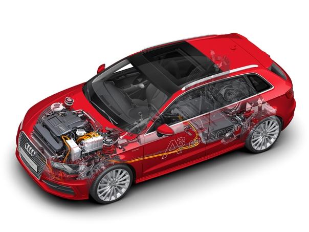 Audi mit Plug-in-Hybrid: Der neue A3 Sportback e-tron