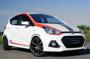 Der Hyundai i10 Sport.