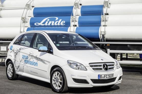 Daimler und Linde investieren gemeinsam in den Aufbau der deutschen H2-Infrastruktur.