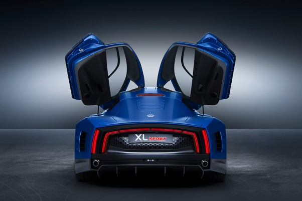 Die Volkswagen Studie XL Sport