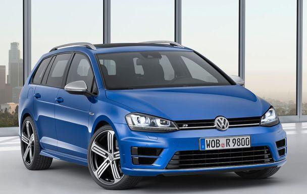 Der neue Volkswagen Golf R Variant