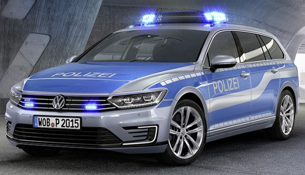 Volkswagen gibt mit der Studie als GTE ersten Ausblick auf den neuen Passat als Polizeifahrzeug