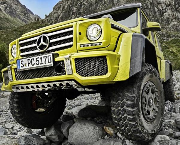 Showcar G 500 4x4²