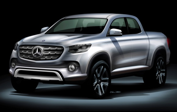 Mercedes Pick-up