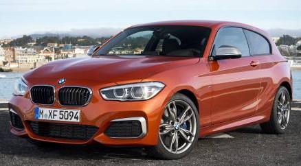 Der neue BMW M135i.