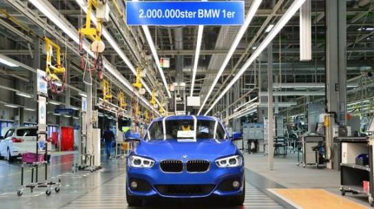 Der zweimillionste 1er BMW