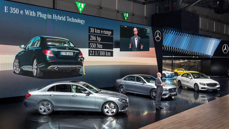 Mercedes-Benz auf dem Internationalen Automobil-Salon Genf 2016Mercedes-Benz at the Geneva International Auto Show 2016