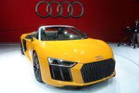 Audi R8 Spyder Foto: R. Huber