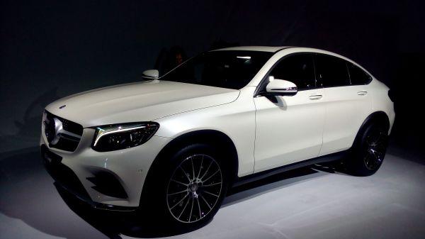 Mercedes GLC Coupé Foto: R. Huber