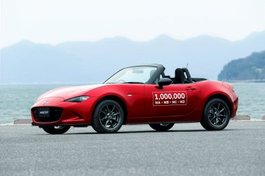 Eine Million Mazda MX-5. Foto: Mazda