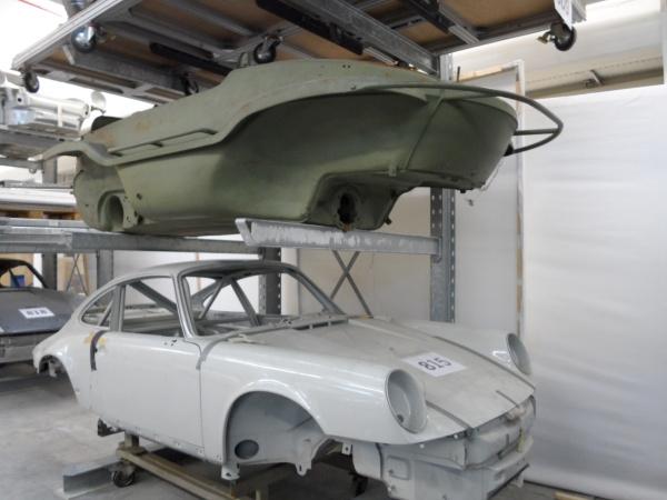 Porsche-Depot Foto: Rudolf Huber