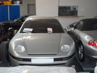 Porsche-Depot. Foto: Rudolf Huber