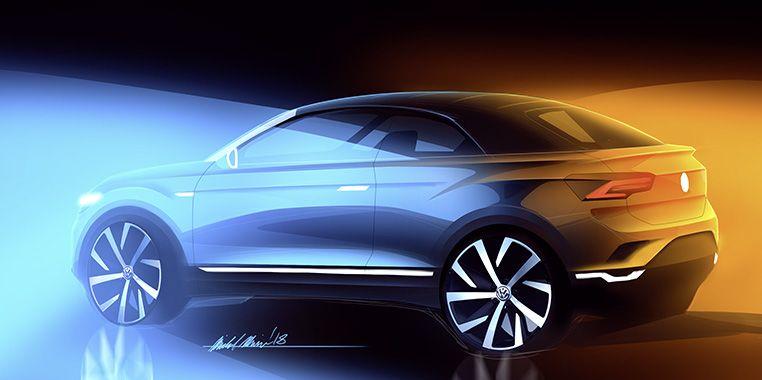 Erstes SUV-Cabriolet von Volkswagen.